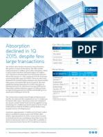 NOIDA Office Property Market Overview April 2015