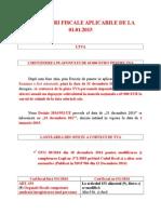 Modificari fiscale aplicabile de la 01.01.2015.doc