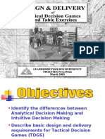 • Identify the Differences Between Analytical Decision