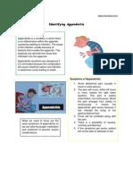 Identifying Appendicitis