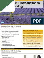 OpenSAP Fiux1 Get to Know SAP Fiori Ww