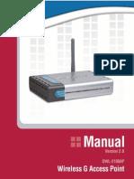 Dwl2100AP Manual