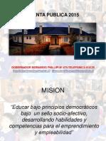 Cuenta Publica 2015-1