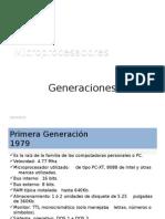 Microprocesadores Generaciones