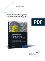Project Portfolio Management with SAP® RPM and cProjects