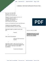 Fairey Motion to Postpone Depo