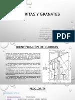 Exposicion Granates y Cloritas