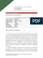 [50035] Teoría y Construcción de Instrumentos Psicológicos 2014