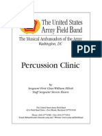 Percussion Clinic