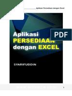 Panduan Aplikasi Stok Excel