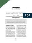 Analisis de Documentos Audiovisual en el Aula