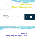 Logistics Chap 02 Integrating the Supply Chain