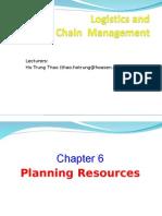 Logistics Chap 06 Planning