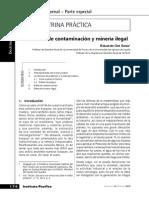 Contaminacion y Mineria Ilegal Actualidad Penal