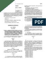 2015 Lei 40 Qualificação Profissional