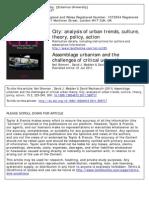 Assamblage Urbanism