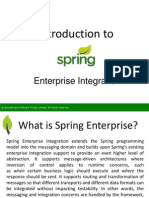 Introduction to Enterprise Integration - SpringPeople