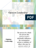 Opinion Leadership