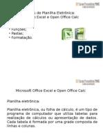 Planilha Eletrônica Calc e Excel