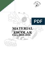 Material Primaria 15-16