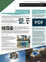 Exploring 3D Virtual Environments through Optimised Spherical Panorama Navigation - Poster