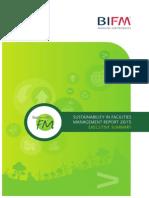 BIFM  Sustainability in FM Survey (Executive Summary)