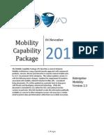 Mobility Capability Pkg Vers 2 3