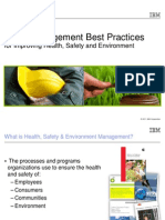 IBM MaximoHEalth Safety Environment