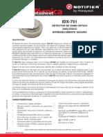 Notifier Detector de Fumo IDX751