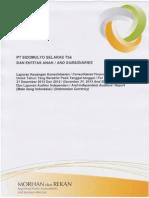 Laporan Keuangan Laporan Keuangan Tahun 2013 Audit SDMU SDMU LKT Des 2013