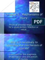 Chapter 5 - Mechanisms of Injury