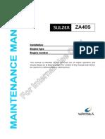 Maintenance Manual ZAL40S Int Use