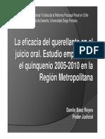 Congreso 10 Años de La Reforma Procesal Penal en Chile