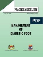 CPG Management of Diabetic Foot