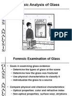 Glass Composition Types Fracture Patterns Sample Collection and Analysis