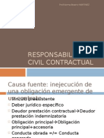 Responsabilidad Civil Contractual