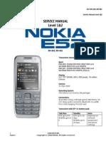 Nokia E52 Service manual L1&L2