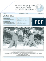 Longfei Taijiquan Association of Great Britain - Newsletter 2003 Vol 4 Issue 3