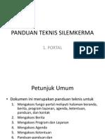 Panduan Teknis Portal