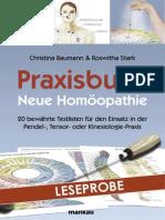 Praxisbuch Neue Homoeopathie