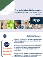TrazabilidaTrazabilidad de Medicamentos de Medicamentos - UB 2013