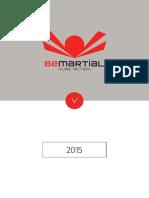 BeMartial // Catalogo 2015