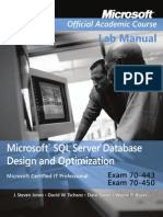 Exam 70-443 & 70-450 Microsoft SqlServer