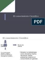 Clase 3_El Conocimiento Cientifico 2
