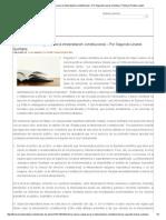 Doctrina Clásica_ Reglas Para La Interpretación Constitucional – Por Segundo Linares Quintana _ Thomson Reuters Latam