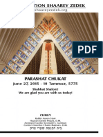 June 27, 2015 Shabbat Card
