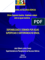 Disponibilidade e Demanda Aguas Superficiais