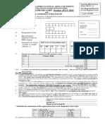 Rr Form Mp, Bca(p) Mca 1502