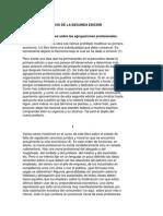 Prefacio de La Segunda Edición Durkheim