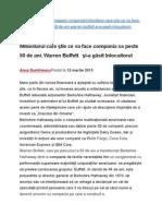Afaceri Warren Buffett